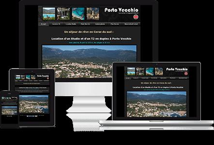 Voir le site internet : http://www.location-portovecchio-marina.com