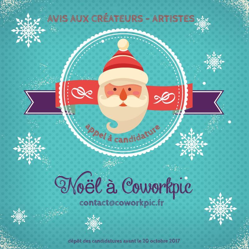 exposer/vendre ses créations dans la boutique partagée de coworkpic, c'est possible ! à Noël, coworkpic invite les artistes/ créateurs d'ici....les places sont limitées dépêchez-vous!
