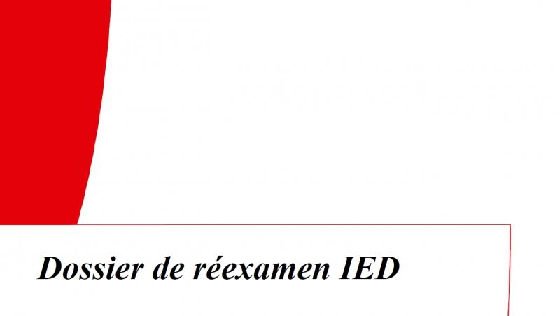 Réexamen IED: A déposer en urgence!