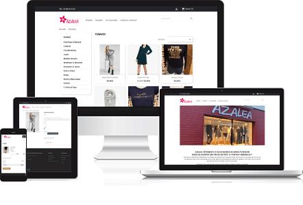 AZALEA, vêtements et accessoires de mode