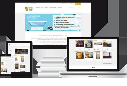 La boutique en ligne TY LIEN
