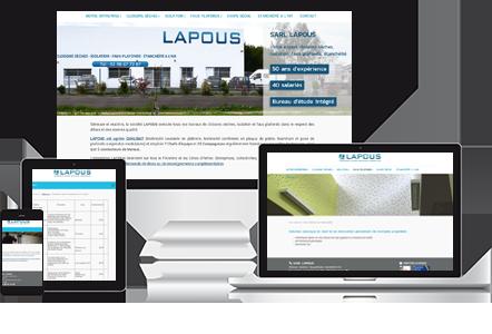 SARL LAPOUS - Plaquiste, Platrier